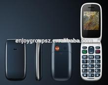 2.2'' good shape 3g fold mobile phone senior phone W72