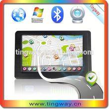 5 inch DVR camera gps navigation,128MB RAM+4GB,AVIN,Bluetooth,800 x 480,Windows CE6.0,Mstar MSB2531: 800MHz ARM9