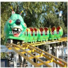 Exciting & Safe Kids Sliding Track Train Worm Roller Coaster