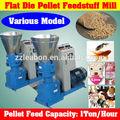 precio barato pequeña granja de aves de corral hecho de cerdo feed pellet que hace la máquina