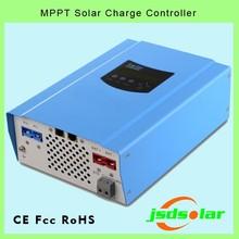 sealed lead acid, vented, gel, nicd battery option 60A 12V charger controller