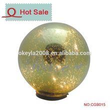 wall mounted outdoor solar light sphere ball light