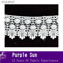 decorative guipure lace material for sale
