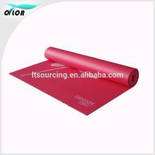 High quality yoga mat custom label