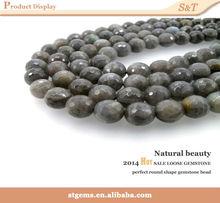 gemstone supplier Madagascar 6mm labradorite faceted natural beads