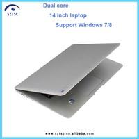 14.1 inch Slim Laptop Computer Intel Atom 2GB RAM 250G HDD