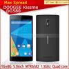 Original new doogee dg580 quad core MTK6582 cellular phone
