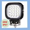 48w led working lights ,12v offroad led light, 48w led working light for car