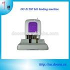 automatic bill payment binding machine DC-2150F