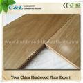 Oak engenharia piso de madeira suave multilayer cor natural