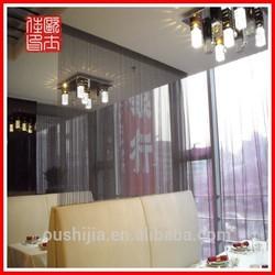colors of metal door curtain/curtain decoration/decorative mesh