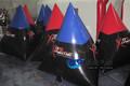 El precio de fábrica de alta calidad de paintball inflable obstáculo/utiliza paintbali bunkers/paintball equipos de china