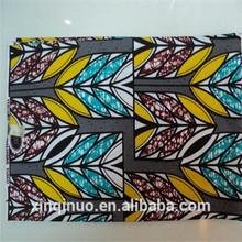 African wax printed fabric