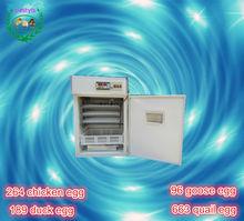 HOT sale !! Full Automatic Farm Machine Tunnel Type 264 Eggs Incubator laboratory egg incubator