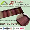 الصلب سقف القرميد الروماني سقوف نوع صفائح معدنية مموجة تسقيف مواد البناء