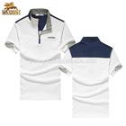 fashion polo men shirt designs of zipper collar polo shirt