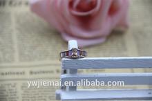 gold ring 585 rainbow engagement ring ladies' finger ring