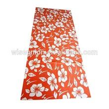 online micro fiber custom made logo photo yoga towel mat