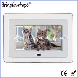 7 inch multi function Acrylic digital photo frame (XH-DPF-070A)