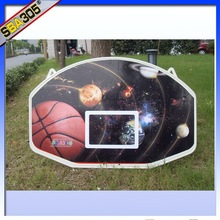 wall basketball stand backboard with plastic basketball hoop