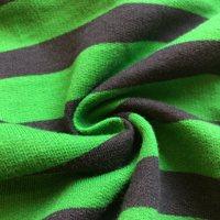 New double colour striped jersey fabrics/MINI Terry striped fabrics