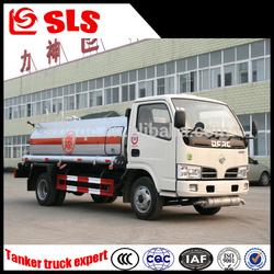 Dongfeng 5000L capacity fuel tank truck, fuel tanker truck, fuel bowser