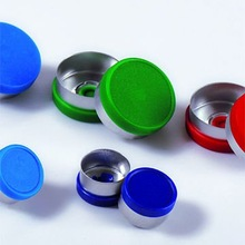 Pharmaceutical plastic screw caps for dropper bottle
