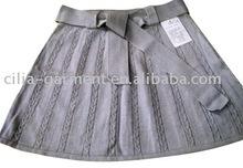 girls knitted skirt