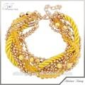 produttore direttamente la vendita di catena di rame rosario di moda braccialetto 2014 con una buona qualità