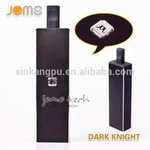 E cig china wholesale, cottura jomotech ecig Dark Knight mod, camera vaporizzatore