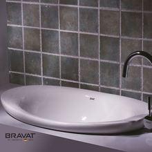 Fashion Design bathroom ceramic vanity basin sanitaryware for Bathroom Decoration