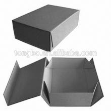 Storage Art Paper Grey Cardboard Folding Storage Box