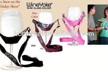new bulk cheap wine glass holder lanyard