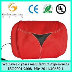 Car neck massage pillow/ neck kneading massage pillow/ electric massage pillow