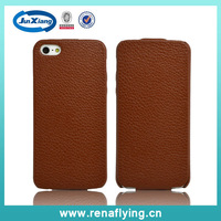 wholesale cell phone flip leather case for iphone 5s