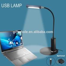 USB desktop led lamp 10 led table lamp, usb lights
