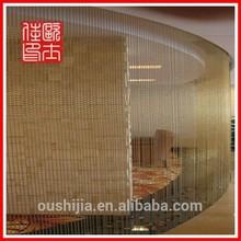 Fashion Design Crystal Decorative Bead Curtain(manufacturer)