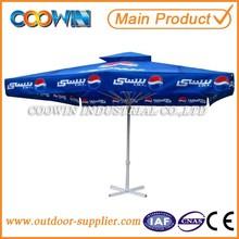outdoor square umbrella ,telescopic parasol, garden umbrella