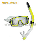 Diving Equipment / Diving Mask And Snorkel Set (M108+SN136)