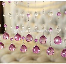 Pretty crystal home decor Bead Curtain