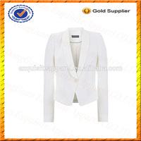 Custom 100% Viscose Mint Velvet Ladies Tuxedo Jacket/Women Tuxedo Jacket Wholesale