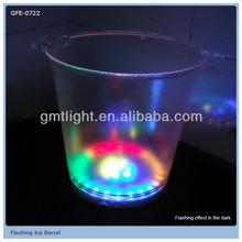 30 Led Lights Flashing Ice Barrel