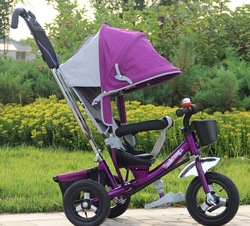 4-in-1 baby tricycle /children tricycle with CE