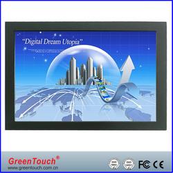 Hi-tech 22 Inch USB touch interface open frame touchscreen monitor
