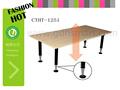 muebles de estilo coreano de altura ajustable mesa de dibujo de estaciones de trabajo de la oficina