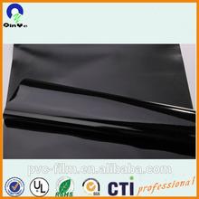 soft PVC film polish black/factory price garments used 100% pure PVC