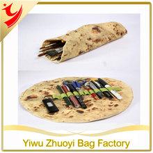 Round,ingenious,factory price and imitation pie shape pencil case