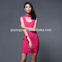 women clothes red lace bandage dress, bodycon dress, crochet dress