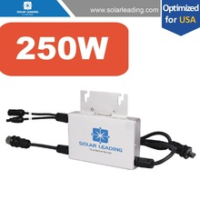 Home used grid tie micro inverter connect to chinese solar panels for sale for solar panel home system