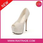 2014 Newest fashion design full of diamond luxury peep toes ultra high16cm waterproof platform women party dress shoes